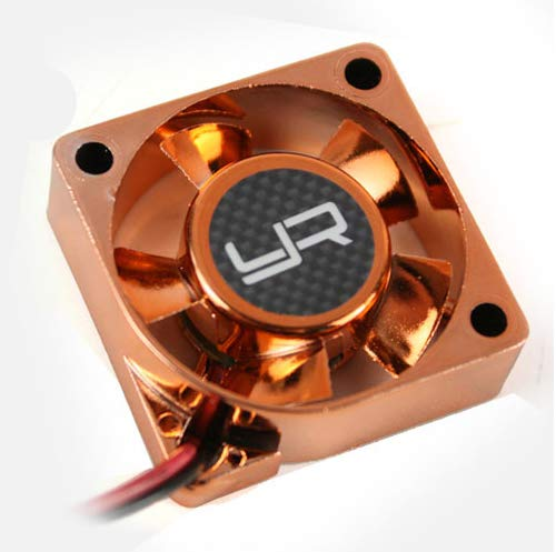 Yeah Racing Tornado High Speed Cooling Fan Orange 30x30mm For Motor Heat Sink #YA-0180OR