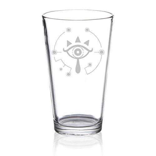 The Legend of Zelda – Sheikah Symbol – Etched Pint Glass