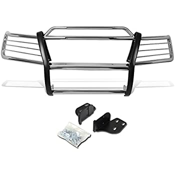 DNA Motoring GRILL-G-048-SS Front Bumper Brush Grille Guard For 11-16 Jeep Grand Cherokee
