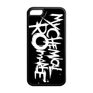 Fashion My Chemical Romance Personalized iPhone 5/5s Rubber Silicone Case Cover