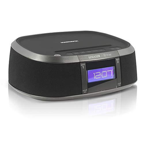 Craig - Magnavox, Interactive Amazon Alexa Voice Activated WiFi Clock Digital PLL FM Radio with USB Charging Port (Clock Alarm Craig)