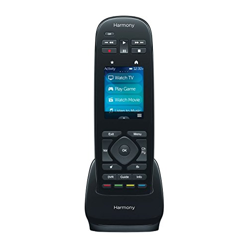 Logitech Harmony Ultimate One 2.4'' Touchscreen Universal Remote for 15 Devices (Certified Refurbished) by Logitech