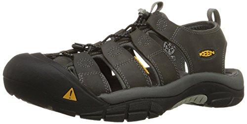 KEEN Men's Newport Sandal, Neutral Gray/Gargoyle, 9.5 M US