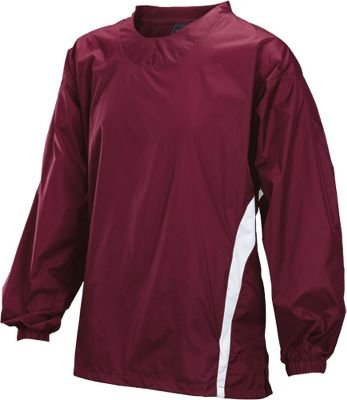 Easton Adult Long Sleeve Enforcer Jacket, Maroon, Medium