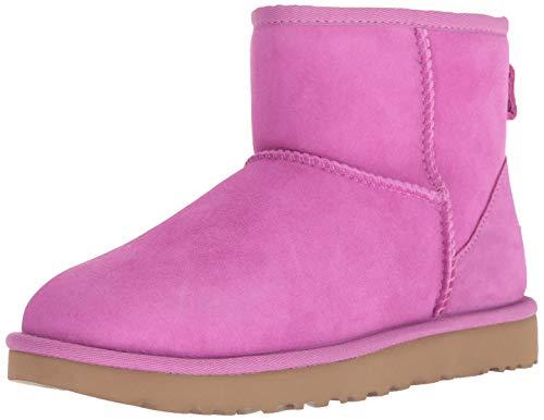 Pink Uggs - UGG Women's W Classic Mini II Fashion Boot, Bodacious, 9 M US