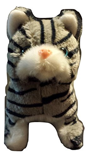 Cute Kitty – My lovely Pet – Meows, Curls its tail, Walks - Battery Operated Little Cat Toy (Little Toy Cat)