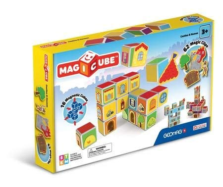 ToyPlaya GEOMAG Magicube: Castles & Homes