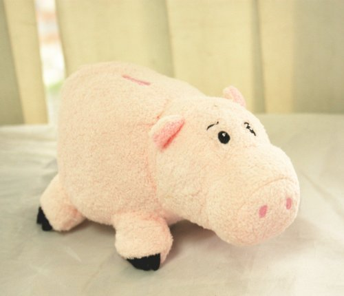 EUC Disney Store Toy Story Hamm Ham the Piggy Bank Pig Plush 7'' Doll by (Hamm Piggy Bank)