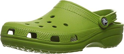 Crocs Unisex Classic Clog Parrot Green Clog/Mule Men's 7,...