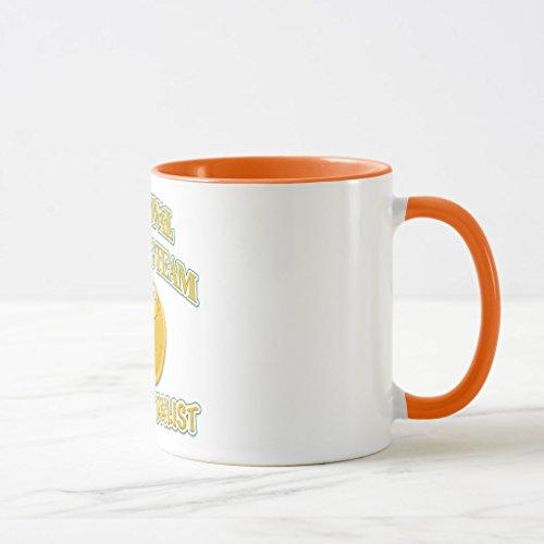Zazzle National Talking Team Gold Medalist Coffee Mug  Orange Combo Mug 11 Oz