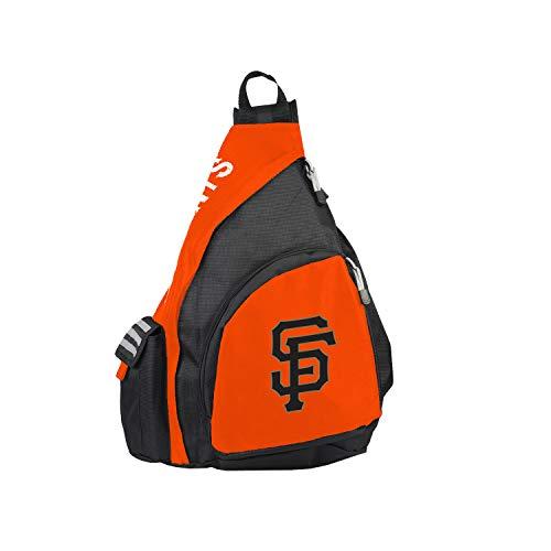 MLB San Francisco Giants Leadoff Sling Backpack, 20-Inch, Black/Orange