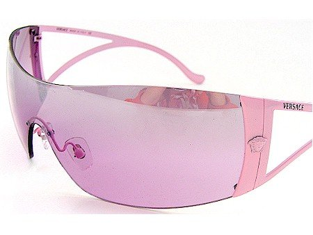 c7aa076ba9d New Versace Sunglasses 2034 1067 7A Mirror Pink Shades Pink Frame Size  01-40-110   Amazon.co.uk  Clothing