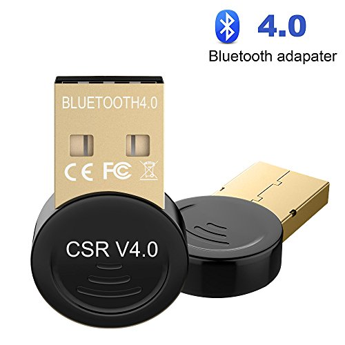 USB Bluetooth 4.0 Adapter for PC, Sunany Wireless Bluetooth Dongle for Phone tablet Speaker Headphone Game Controller Handle VoIP Keyboard Mouse Support All Windows 10 8.1 8 7 XP vista