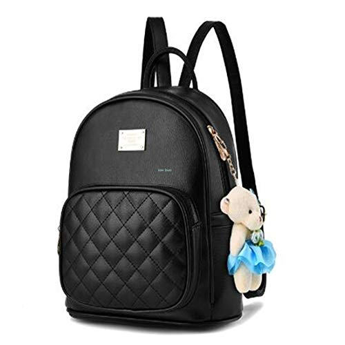 Star Dust Backpack for women Stylish | women backpack latest | school bag for girls under | College Bag for women (Black)