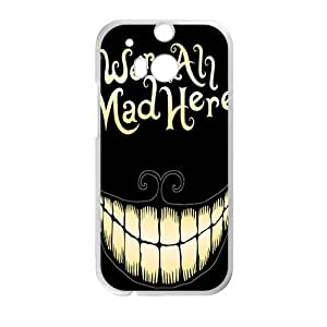 VOV We Are All Mad Here Hot Seller Stylish Hard Case For HTC One M8