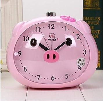 YJFNZ Reloj Despertador Digital Reloj De Luz Nocturna para ...