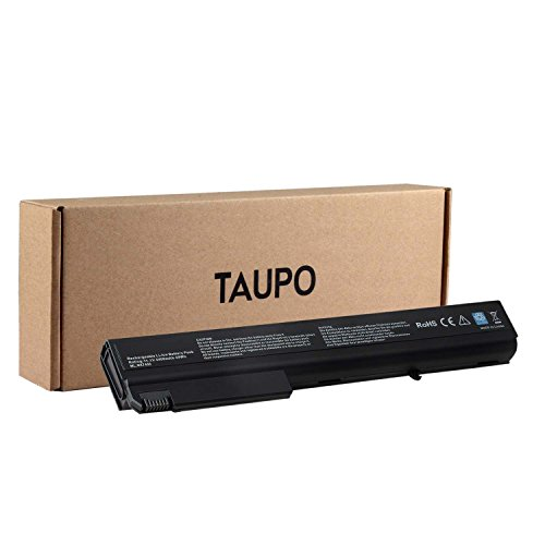 TAUPO New Laptop Battery for HP Compaq NX9420 8510 8510W 8710W 8710P 8510P NC8430 NX7400 NX8200 NX8230 NX9400, fits PB992A[Li-ion 6-Cell] - 12 Months Warranty