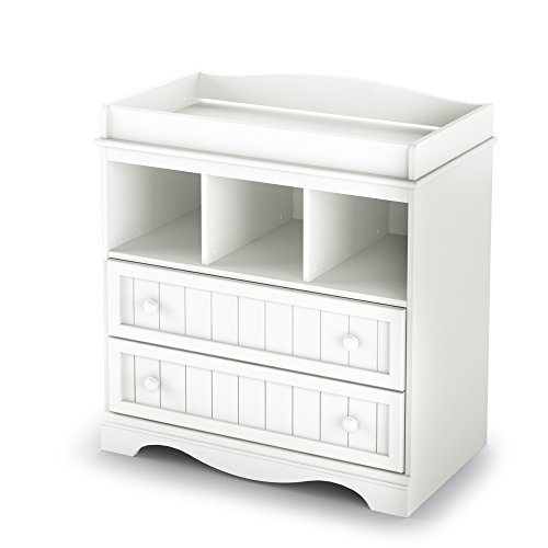 South Shore  Savannah 2-Drawer Changing Table, Pure ()