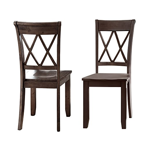 Steve Silver Aida Dining Chair in Brown