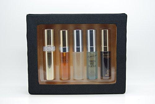 Elizabeth Taylor for Women Variety Mini Gift Set Eau De Toilette Spray 0.33 Ounce 4 pcs.: White Diamonds & Brilliant White Diamonds & Sparkling White Diamonds & Passion