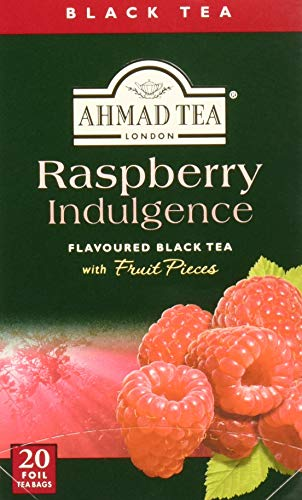 Ahmad Tea Company Tea, Blk Rspbrry, 20-count (Pack of 6)
