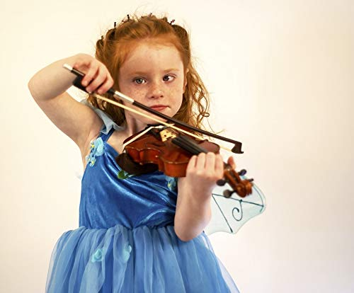 Home Comforts Peel-n-Stick Poster of Fairy Music Instrument Girl Violin Child Lesson Vivid Imagery Poster 24 x 16 Adhesive Sticker Poster Print