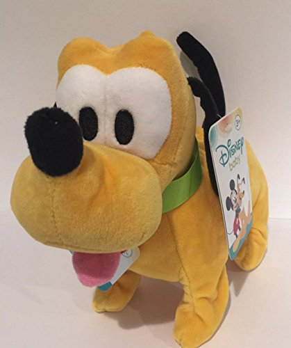 Disney Baby Pluto Animated Barks and Wags Tail Pet Includes Batteries (Mickey Walking Mouse)