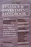 img - for Finance and Investment Handbook (Barron's Finance and Investment Handbook) book / textbook / text book