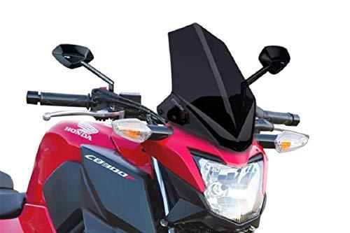 (Puig 15-19 Honda CB300F Naked Generation Sport Windscreen (Dark Smoke))