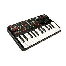 Akai Professional MPK Mini 25-Key Ultra-Portable USB MIDI Keyboard Controller