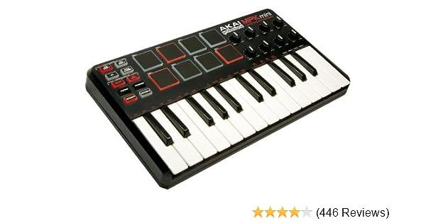 Akai Professional MPK Mini 25-Key Ultra-Portable USB MIDI Keyboard  Controller (OLD MODEL)