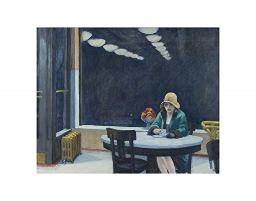 Automat, 1927 by Edward Hopper, Art Print Poster 14