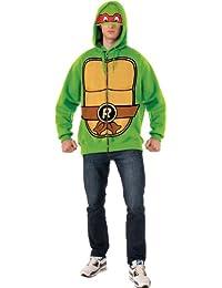 Rubie's Costume Men's Teenage Mutant Ninja Turtles Adult Raphael Hoodie