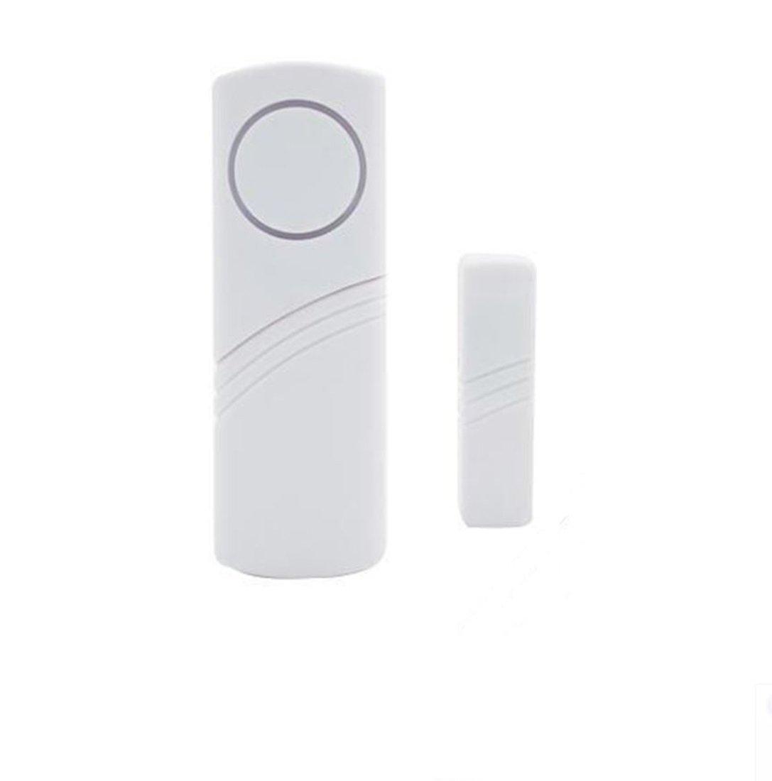 1 Pack Wireless Alarm Door Entry Alert Bell Business Entrance Chime Sensor Kit