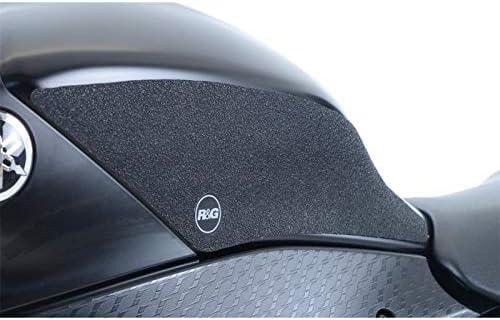 Kit grip de r/éservoir R/&G RACING 2 pi/èces noir Yamaha R6