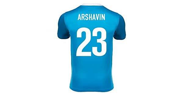 best service 96ba5 50c42 2013-14 Zenit Home Shirt (Arshavin 23), Jerseys - Amazon Canada