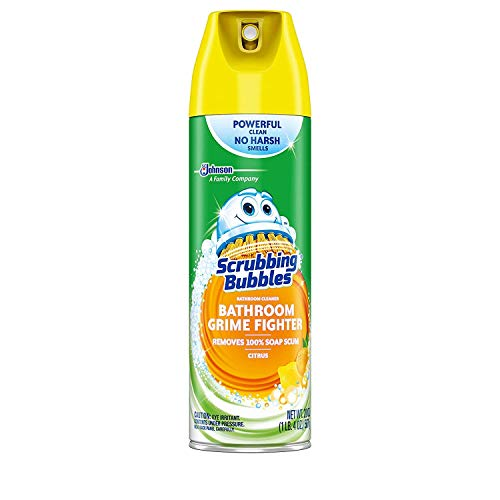 (Scrubbing Bubbles Disinfectant Bathroom Cleaner, Fresh Citrus Scent, 20 Ounce, (Pack of 3))