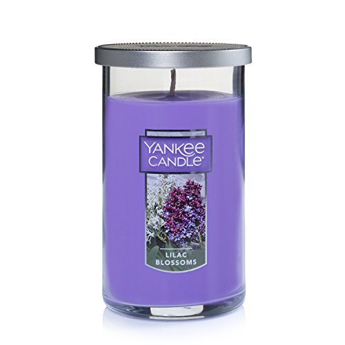 Yankee Candle Medium Perfect Pillar Candle , Lilac Blossoms