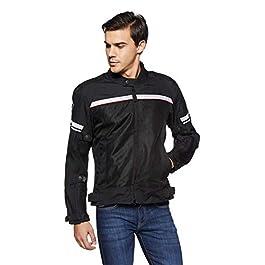 Royal Enfield Summer Riding Jacket Black (S) 38 CM(RRGJKB000027)