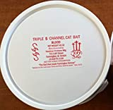 Triple S (Sonny's Super Sticky) Channel Cat Bait - Blood 45 Ounces