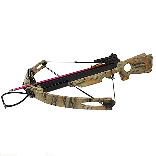 150LB Camouflage Crossbow with 2 Arrows [Misc.]