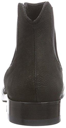Mentor Mentor Chelsea Boot - botines chelsea de cuero mujer negro - negro (Black Nubuck)