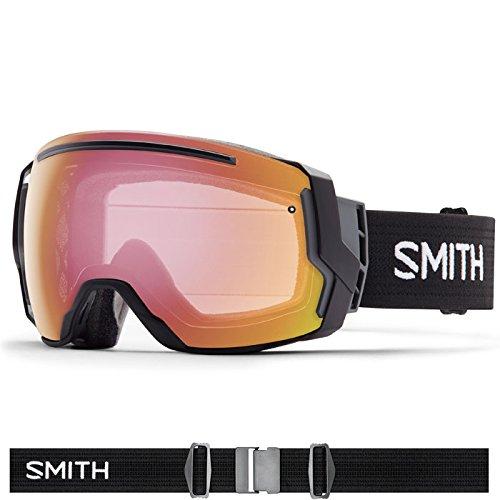 Smith Optics I/O 7 Adult Interchangable Series Snocross Snowmobile Goggles Eyewear - Black / Photochromic Red Sensor / Medium by Smith Optics