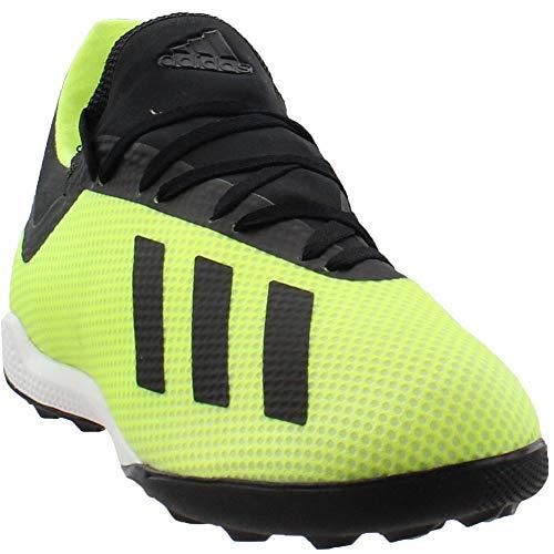 promo code fecbc 2a7b4 Galleon - Adidas Men s X Tango 18.3 Turf Soccer Shoe, Solar Yellow Black  White, 10.5 M US