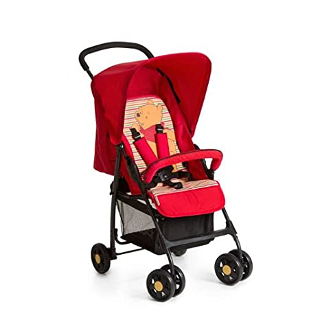 Pushchair from Birth to 15 kg with Lying Position Shopping Basket Hauck Sport Easy and Compact Folding Sport Stroller Tango//Caviar Bumper Bar