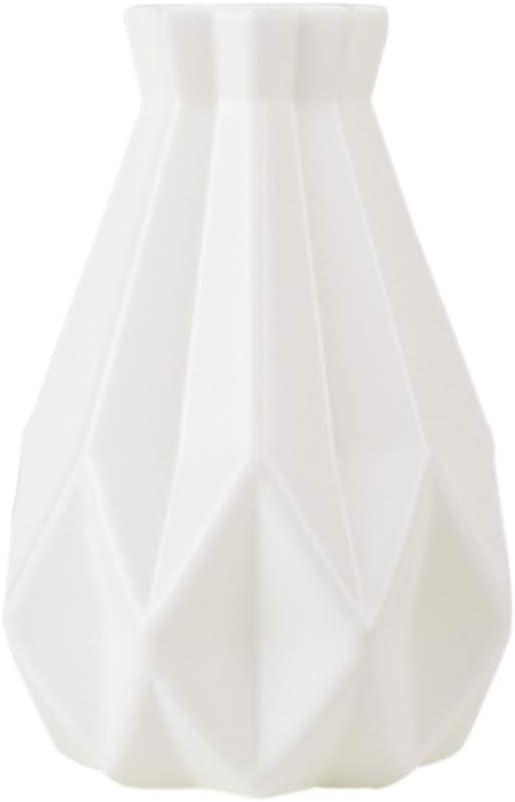 Vases /à fleurs en c/éramique de simulation cuisine mariage bureau maison forme dorigami moderne vase d/écoratif g/éom/étrique contenant de fleurs pour salon table