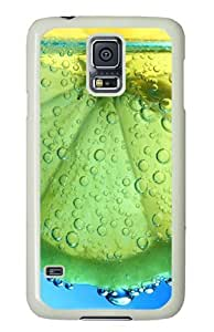 Unique Painting Lime In Water Polycarbonate Hard Case Cover for Samsung S5/Samsung Galaxy S5