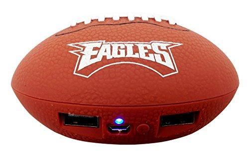 UPI Marketing, Inc. NFL Philadelphia Eagles Phone Charger, One Size, Brown