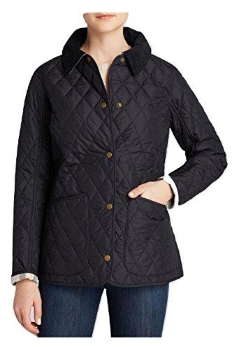 Barbour Fleece Jacket - Barbour Women's Clover Liddesdale Jacket - Black - 12