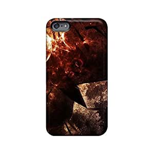 Shock Absorbent Cell-phone Hard Cover For Iphone 6plus With Customized Trendy Rise Against Skin MansourMurray